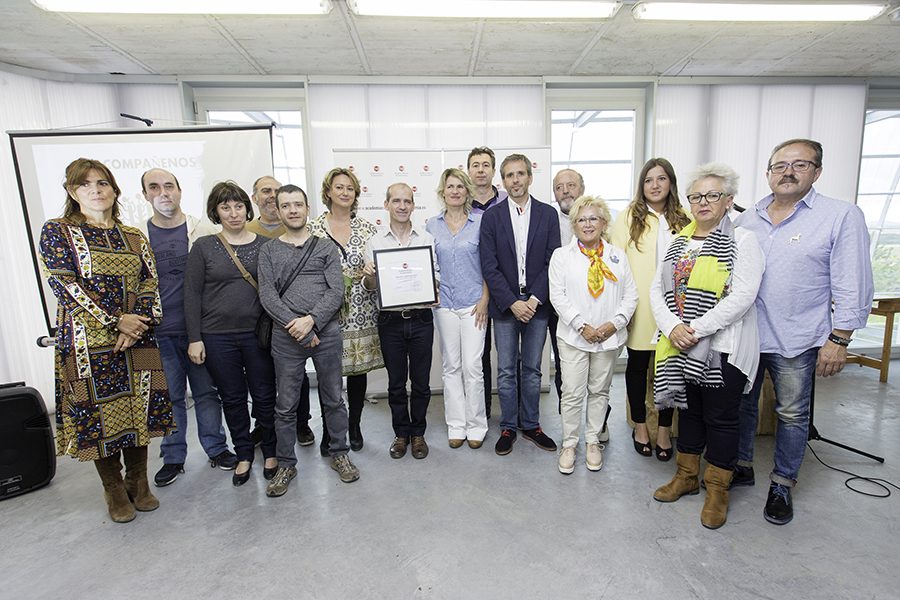 """Los """"Jardines Comestibles"""", primer premio a la Innovacion de la Academia Navarra de Gastronomía"""