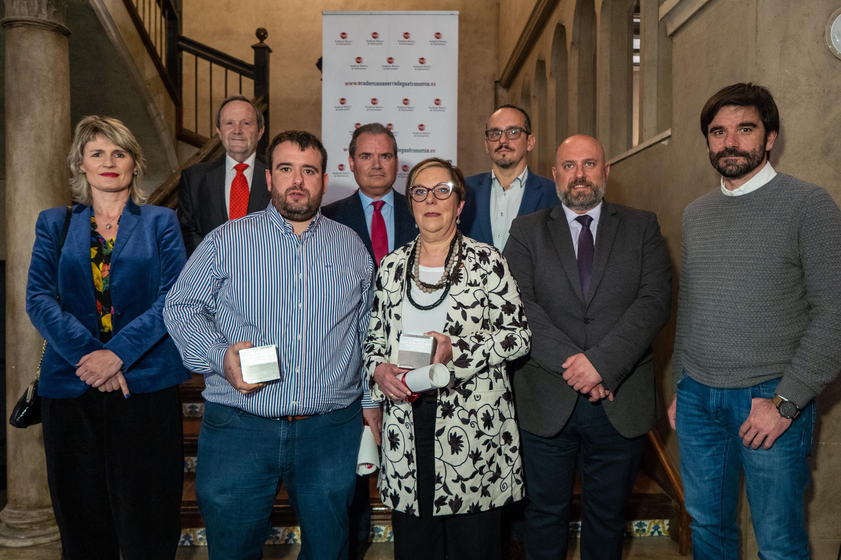 Premios 2018  de la Academia Navarra de Gastronomía