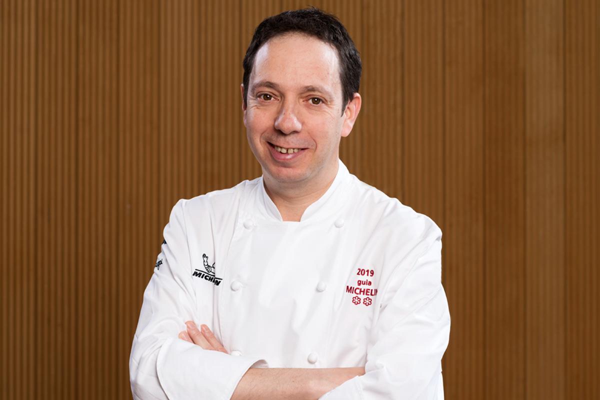 David Yárnoz, Premio 2019 de la Academia Navarra de Gastronomía