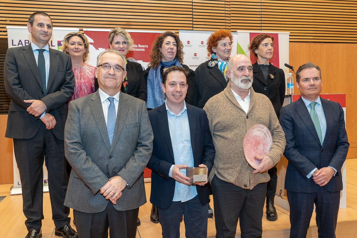 David Yárnoz recibe el Premio Anual de la Gastronomía 2019